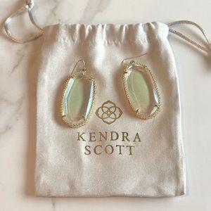 Rare Kendra Scott Clear Iridescent Deilys